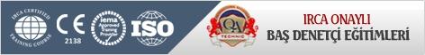 reklam ALBERK QA TECHNIC Uluslararası Teknik Kontrol ve Belgelendirme A.Ş